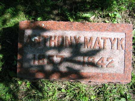 MATYK, ANTHONY - Linn County, Iowa   ANTHONY MATYK
