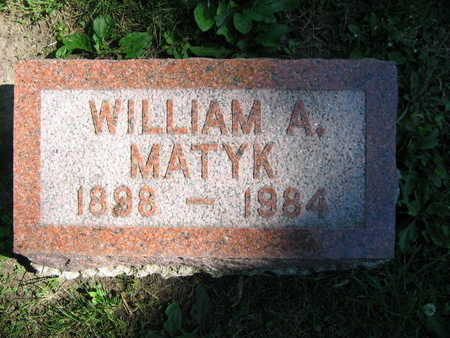MATYK, WILLIAM A. - Linn County, Iowa | WILLIAM A. MATYK