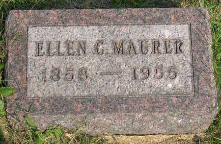 MAURER, ELLEN C. - Linn County, Iowa | ELLEN C. MAURER
