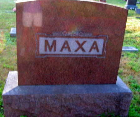 MAXA, FAMILY STONE - Linn County, Iowa   FAMILY STONE MAXA