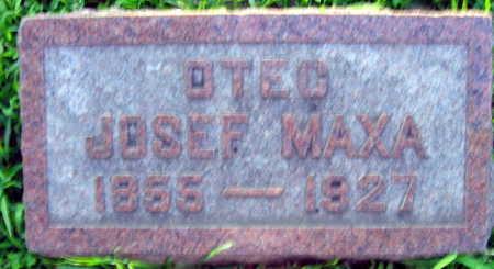 MAXA, JOSEF - Linn County, Iowa   JOSEF MAXA