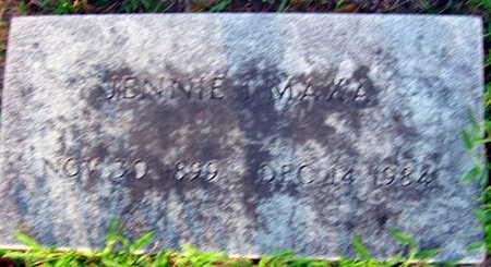 MAXA, JENNIE I. - Linn County, Iowa | JENNIE I. MAXA