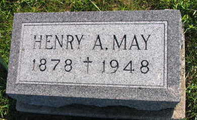 MAY, HENRY A. - Linn County, Iowa | HENRY A. MAY