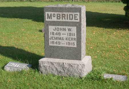 KERR MC BRIDE, JEMIMA - Linn County, Iowa | JEMIMA KERR MC BRIDE