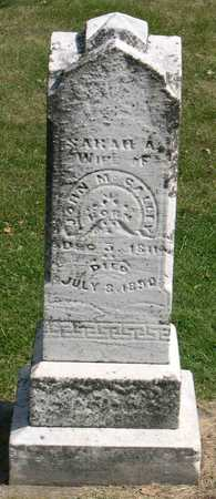 MCCALLEY, SARAH A. - Linn County, Iowa   SARAH A. MCCALLEY