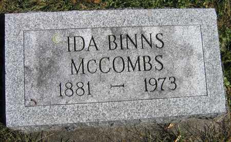 MCCOMBS, IDA - Linn County, Iowa | IDA MCCOMBS