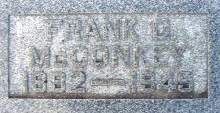 MCCONKEY, FRANK - Linn County, Iowa | FRANK MCCONKEY