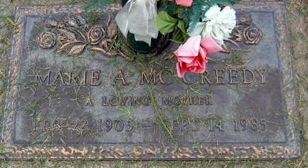 MCCREEDY, MARIE A. - Linn County, Iowa | MARIE A. MCCREEDY