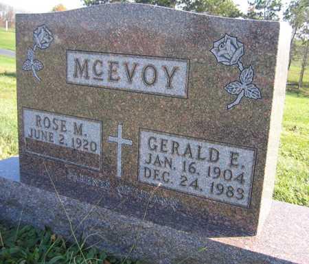 MCEVOY, GERALD E. - Linn County, Iowa | GERALD E. MCEVOY