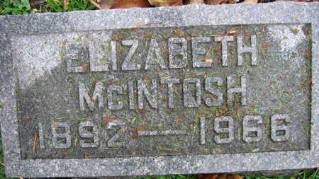 MCINTOSH, ELIZABETH - Linn County, Iowa | ELIZABETH MCINTOSH