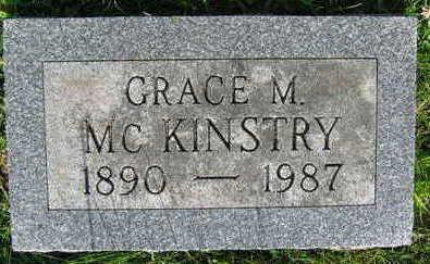 MCKINSTRY, GRACE M. - Linn County, Iowa   GRACE M. MCKINSTRY