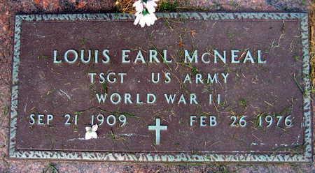 MCNEAL, LOUIS EARL - Linn County, Iowa | LOUIS EARL MCNEAL