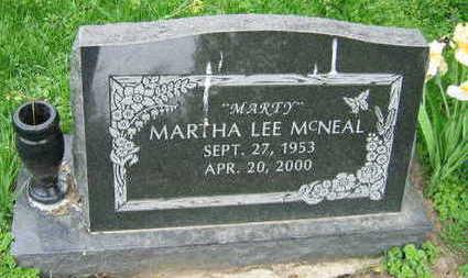 MCNEAL, MARTHA LEE - Linn County, Iowa | MARTHA LEE MCNEAL