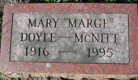 DOYLE MCNITT, MARY