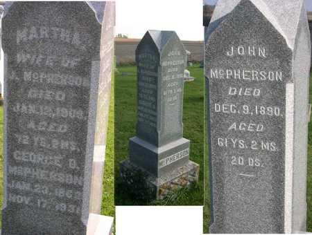 MCPHERSON, MARTHA - Linn County, Iowa | MARTHA MCPHERSON
