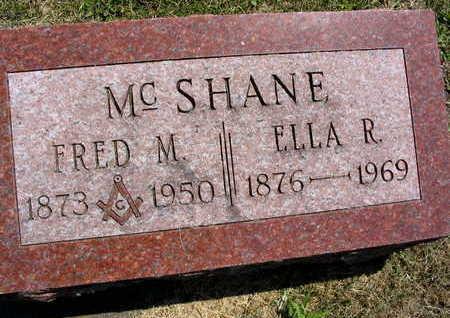 MCSHANE, FRED M. - Linn County, Iowa | FRED M. MCSHANE