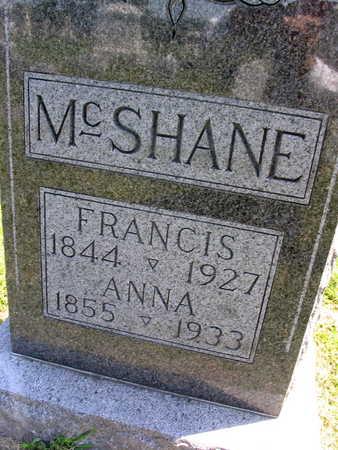 MCSHANE, FRANCIS - Linn County, Iowa | FRANCIS MCSHANE