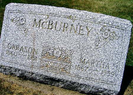 MCBURNEY, ORRASON - Linn County, Iowa | ORRASON MCBURNEY