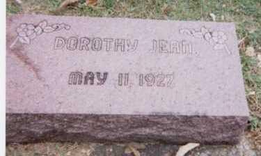 MCCALLEY, DOROTHY JEAN - Linn County, Iowa   DOROTHY JEAN MCCALLEY