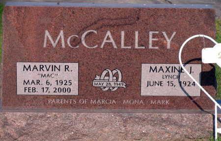 MCCALLEY, MARVIN R. - Linn County, Iowa | MARVIN R. MCCALLEY