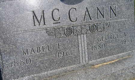 MCCANN, GEORGE A. - Linn County, Iowa | GEORGE A. MCCANN
