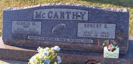 MCCARTHY, ROBERT E. - Linn County, Iowa   ROBERT E. MCCARTHY