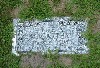 YUNKER MCCARTHY, TILLIE A. - Linn County, Iowa | TILLIE A. YUNKER MCCARTHY