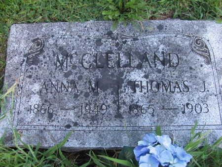 MCCLELLAND, THOMAS J. - Linn County, Iowa | THOMAS J. MCCLELLAND