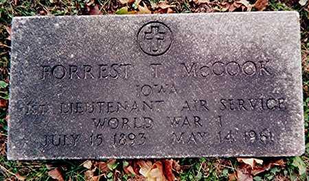 MCCOOK, FORREST T. - Linn County, Iowa | FORREST T. MCCOOK