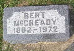 MCCREADY, DR. BERT THOMPSON - Linn County, Iowa | DR. BERT THOMPSON MCCREADY