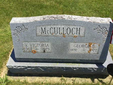MCCULLOCH, GEORGE B - Linn County, Iowa | GEORGE B MCCULLOCH