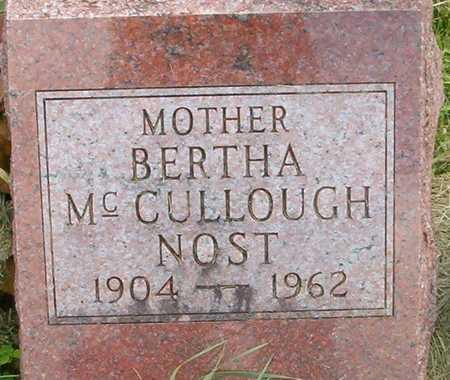 MCCULLOUGH, BERTHA - Linn County, Iowa | BERTHA MCCULLOUGH