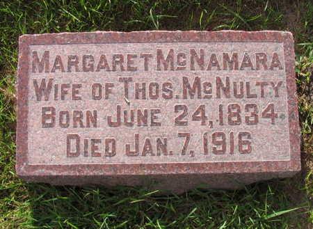 MCNAMARA MCCULTY, MARGRET - Linn County, Iowa | MARGRET MCNAMARA MCCULTY