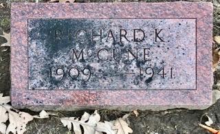MCCUNE, RICHARD K. - Linn County, Iowa | RICHARD K. MCCUNE