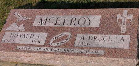 MCELROY, HOWARD J. - Linn County, Iowa | HOWARD J. MCELROY