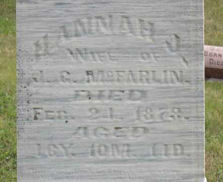 MCFARLIN, HANNAH J. - Linn County, Iowa | HANNAH J. MCFARLIN