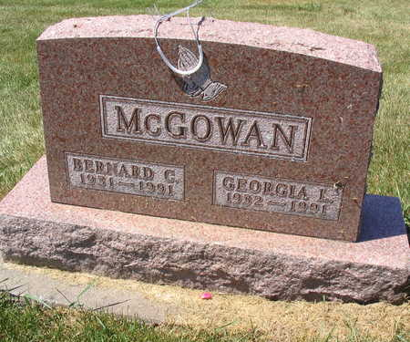 MCGOWAN, BERNARD C. - Linn County, Iowa | BERNARD C. MCGOWAN