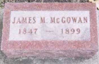 MCGOWAN, JAMES M. - Linn County, Iowa | JAMES M. MCGOWAN