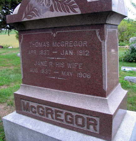 MCGREGOR, THOMAS - Linn County, Iowa | THOMAS MCGREGOR