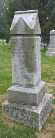 MCGREGOR, WILLIAM R. - Linn County, Iowa | WILLIAM R. MCGREGOR