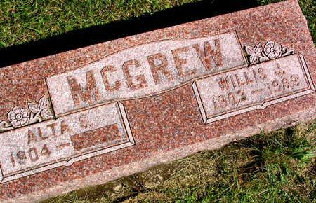 MCGREW, WILLIS J. - Linn County, Iowa | WILLIS J. MCGREW