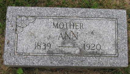 MCLAREN, ANN - Linn County, Iowa | ANN MCLAREN