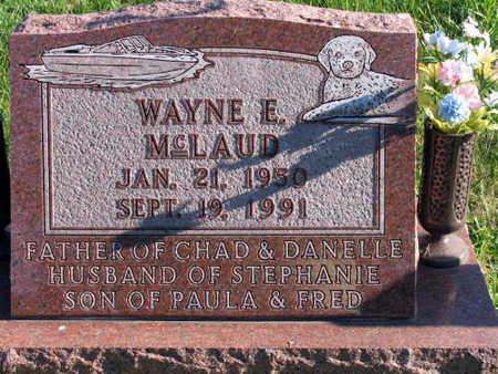 MCLAUD, WAYNE E. - Linn County, Iowa   WAYNE E. MCLAUD