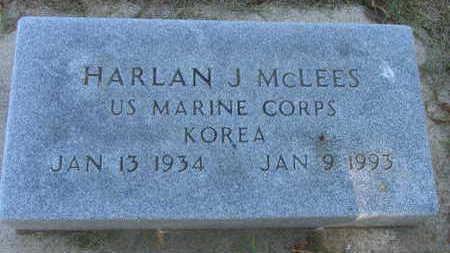 MCLEES, HARLAN J. - Linn County, Iowa | HARLAN J. MCLEES
