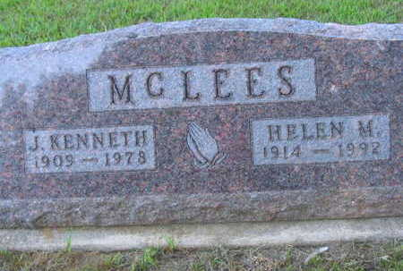 MCLEES, J. KENNETH - Linn County, Iowa | J. KENNETH MCLEES