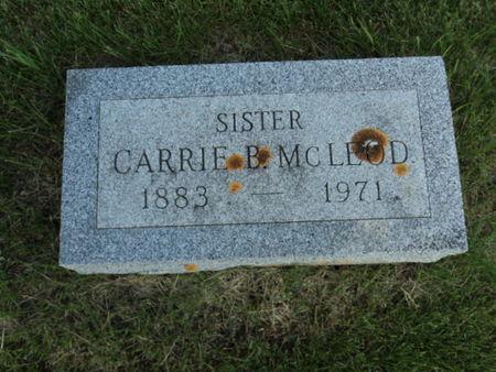 MCLEOD, CARRIE B. - Linn County, Iowa | CARRIE B. MCLEOD
