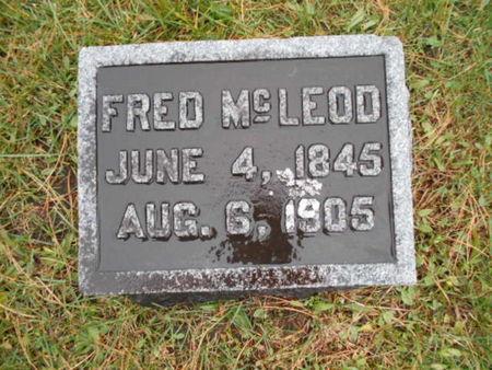 MCLEOD, FRED - Linn County, Iowa | FRED MCLEOD