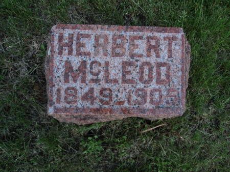 MCLEOD, HERBERT - Linn County, Iowa | HERBERT MCLEOD