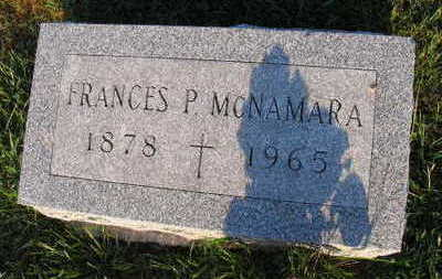 MCNAMARA, FRANCES P. - Linn County, Iowa   FRANCES P. MCNAMARA