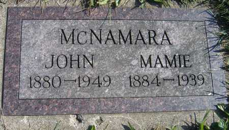 MCNAMARA, MAMIE - Linn County, Iowa | MAMIE MCNAMARA